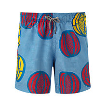 Buy Okun Ali Melon Swim Shorts, Blue/Multi Online at johnlewis.com