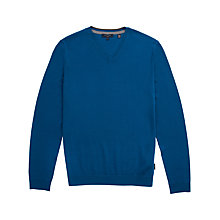 Buy Ted Baker Bedmond Merino Wool V-Neck Jumper Online at johnlewis.com