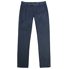 Buy Ted Baker Deerchi Slim Fit Herringbone Trousers Online at johnlewis.com