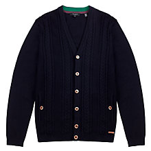 Buy Ted Baker Exford Cardigan, Navy Online at johnlewis.com