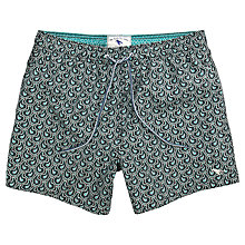 Buy Ted Baker Fifton Paisley Print Swim Shorts Online at johnlewis.com