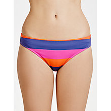 Buy Phax Hustle Stripe Bikini Briefs, Multi Online at johnlewis.com