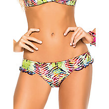 Buy Phax Bossa Nova Frill Bikini Brief, Green Online at johnlewis.com