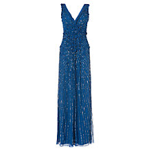 Buy Phase Eight Collection 8 Viviana Petals Dress, Cobalt Online at johnlewis.com