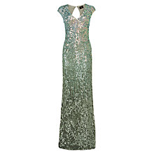 Buy Phase Eight Collection 8 Colette Sequin Dress, Sea Green Online at johnlewis.com