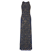 Buy Phase Eight Collection 8 Paola Sequin Maxi Dress, Navy/Bronze Online at johnlewis.com