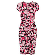 Buy Phase Eight Jeanie Wrap Dress, Pink/Navy Online at johnlewis.com