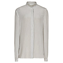 Buy Reiss Striped Maggie Shirt, Blue Online at johnlewis.com