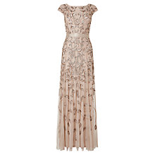 Buy Phase Eight Collection 8 Guliana Beaded Lace Dress, Cream Online at johnlewis.com
