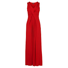 Buy Phase Eight Fiona Cross Front Maxi Dress, Red Online at johnlewis.com