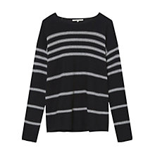 Buy Gerard Darel Abstrait Jumper, Black Online at johnlewis.com