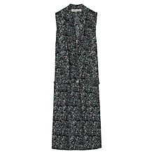 Buy Gerard Darel Acoustique Silk Dress, Green Online at johnlewis.com