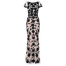 Buy Phase Eight Collection 8 Leonora Tapework Dress, Black/Cream Online at johnlewis.com