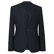 Buy Reiss Kensington Knitted Wool Blazer, Midnight Online at johnlewis.com