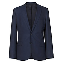 Buy Reiss Saber Slim Striped Suit Jacket, Navy Online at johnlewis.com