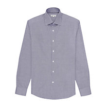 Buy Reiss Kentish Geometric Print Shirt, Blue Online at johnlewis.com