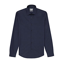 Buy Reiss Brioche Check Shirt, Navy Online at johnlewis.com