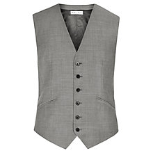 Buy Reiss Garth Tailored Classic Waistcoat, Grey Online at johnlewis.com
