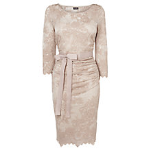 Buy Phase Eight Amory Dress, Champagne Online at johnlewis.com