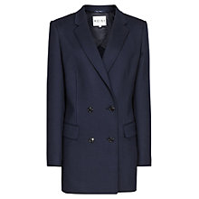 Buy Reiss Skorpios Slim Fit Jacket, Night Navy Online at johnlewis.com