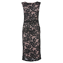 Buy Phase Eight Tammy Lace Dress, Black/Cream Online at johnlewis.com
