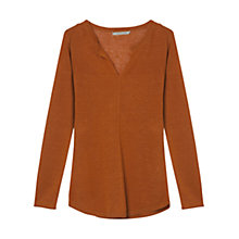Buy Gerard Darel Angus Jumper, Orange Online at johnlewis.com