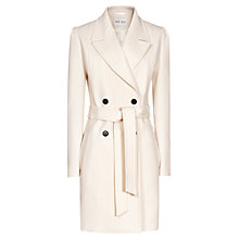 Buy Reiss kennedy Cotton Trench Coat, Champagne Online at johnlewis.com