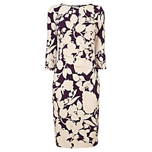 Buy Phase Eight Albertina Dress, Grape/Silver Online at johnlewis.com