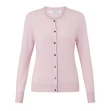 Buy John Lewis Crew Neck Cashmere Cardigan Online at johnlewis.com