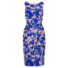 Buy Phase Eight Ruby Floral Shift Dress, Blue/Multi Online at johnlewis.com