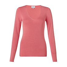 Buy Jigsaw V-Neck Jumper Online at johnlewis.com