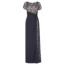 Buy Phase Eight Raquel Lace Maxi Dress, Navy Online at johnlewis.com