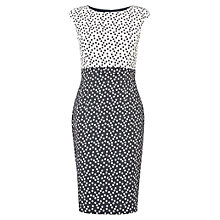 Buy Phase Eight Marcella Spotty Dress, Navy/Cream Online at johnlewis.com