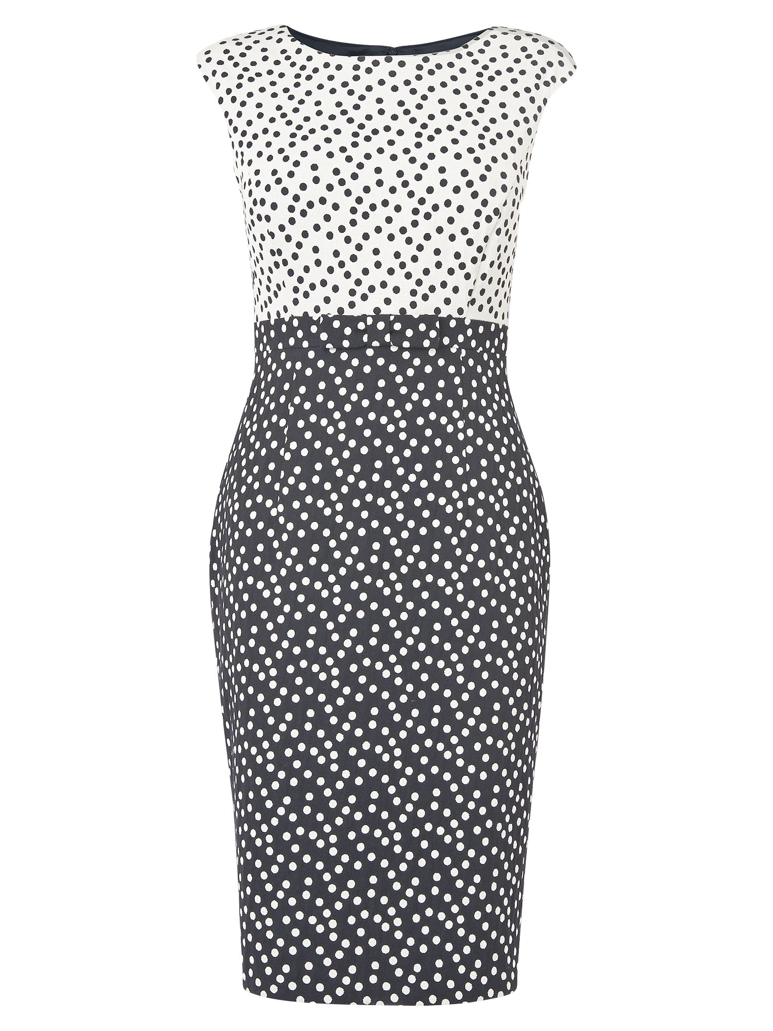 phase eight marcella spotty dress navy/cream, phase, eight, marcella, spotty, dress, navy/cream, phase eight, 16|10|18, women, womens dresses, special offers, womenswear offers, 20% off full price phase eight, womens dresses offers, latest reductions, fashion magazine, brands l-z, inactive womenswear, 1852116