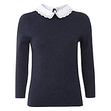 Buy White Stuff Martha Jumper, Navy Online at johnlewis.com