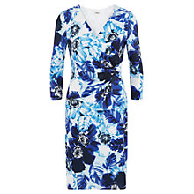 Buy Precis Petite Floral Print Wrap Dress, Multi Online at johnlewis.com