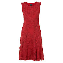 Buy Phase Eight Harmony Tape Dress, Geranium Online at johnlewis.com