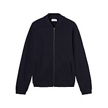 Buy Jigsaw Heavy Cotton Jersey Bomber Online at johnlewis.com