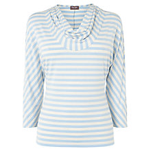 Buy Phase Eight Carrie Striped Top, Ivory/Blue Online at johnlewis.com