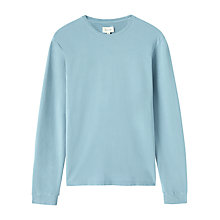 Buy Jigsaw Pique Long Sleeve T-Shirt Online at johnlewis.com