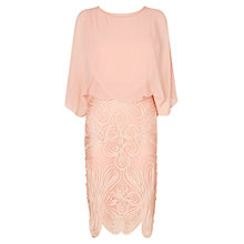 Buy Phase Eight Laura Dress, Nude Online at johnlewis.com
