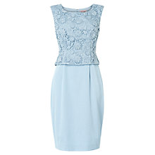 Buy Phase Eight Posy Lace Dress, Mist Online at johnlewis.com