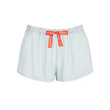 Buy Calvin Klein Cross Hatch Shorts, Pale Blue Online at johnlewis.com