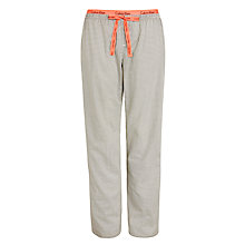 Buy Calvin Klein Diamond Star Pyjama Pants, Black / Cream Online at johnlewis.com