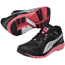 Buy Puma FAAS 600 S Women's Running Shoes, Black/Pink Online at johnlewis.com