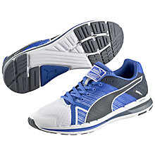 Buy Puma FAAS 300S V2 Men's Running Shoes, White/Strong Blue Online at johnlewis.com