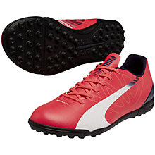 Buy Puma Evospeed 5.3 TT Football Boots, Pink Online at johnlewis.com