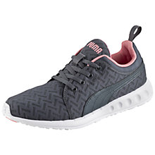 Buy Puma Carson Women's Running Shoes, Grey/Pink Online at johnlewis.com