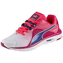 Buy Puma FAAS 500 V4 Women's Running Shoes, Pink/White Online at johnlewis.com