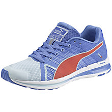 Buy Puma Faas 300S V2 Women's Running Shoes, Blue/Orange Online at johnlewis.com